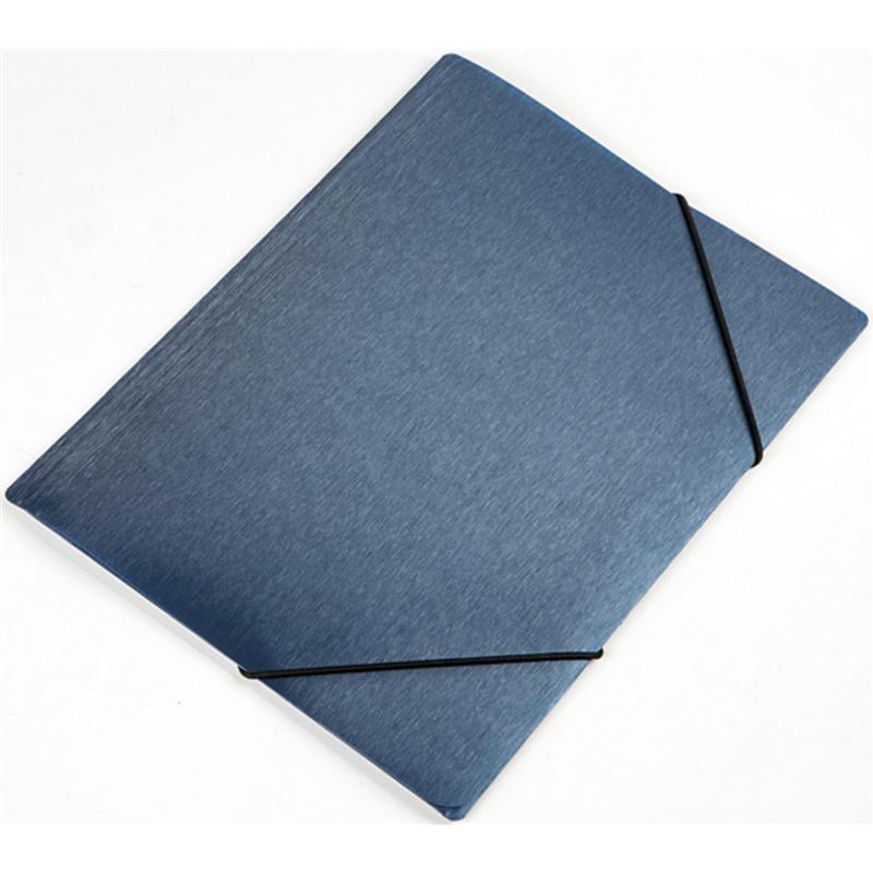 984b54ef09a61 Teczka z gumką A4 PANTA PLAST simple - niebieska